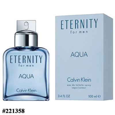 221358 CK ETERNITY AQUA 3.4 OZ