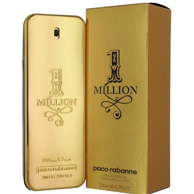 242501 1 MILLION PACO RABANNE 6.7 OZ