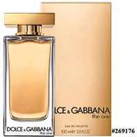 269176 DOLCE GABBANA THE ONE 3.3 OZ