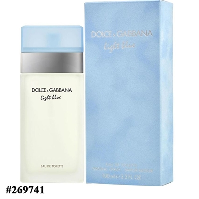 269741 DOLCE GABBANA LIGHT BLUE 3.3 OZ